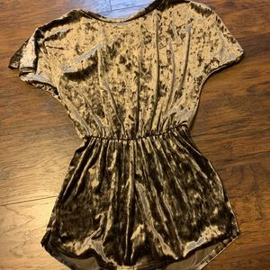 Velvet Romper by ee:some